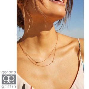 Gorjana + Jennifer Zeuner Star Double Necklace